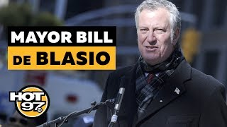 Mayor De Blasio On Healthcare For All New Yorkers, New PTO laws & NYCHA 2.0