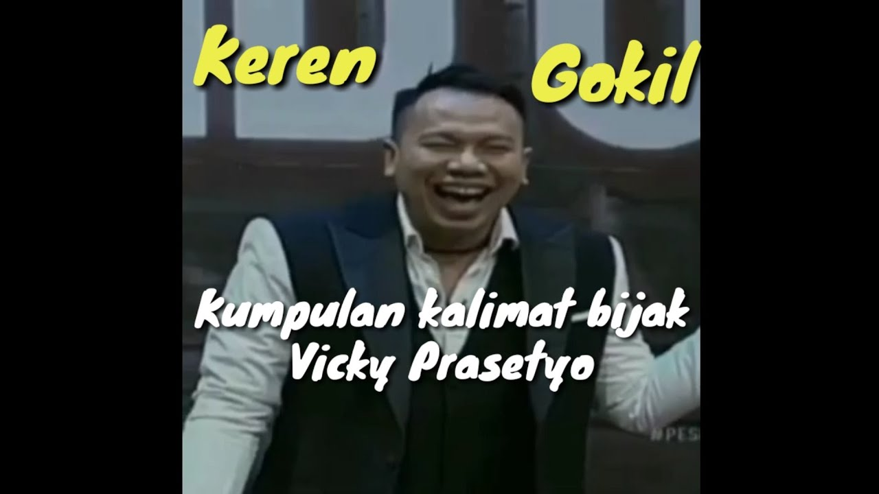 Kata Bijak Vicky Prasetyo Terbaru Dlya Android Skachat Apk