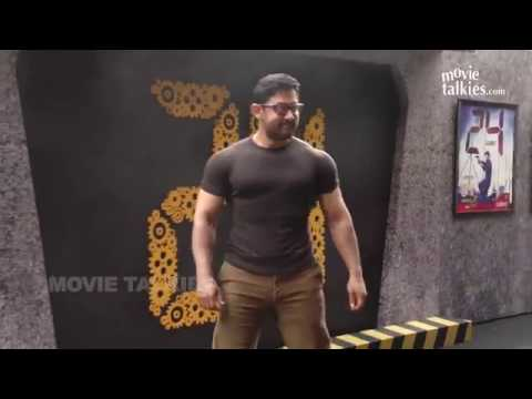 Aamir Khan New Gym Bodybuilding Workout LOOK For Dangal
