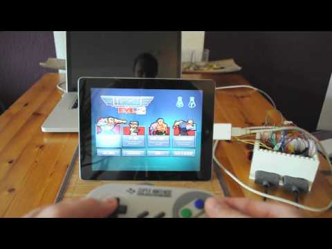 SNES-to-USB-Adapter: Play ICade-Games On The IPad