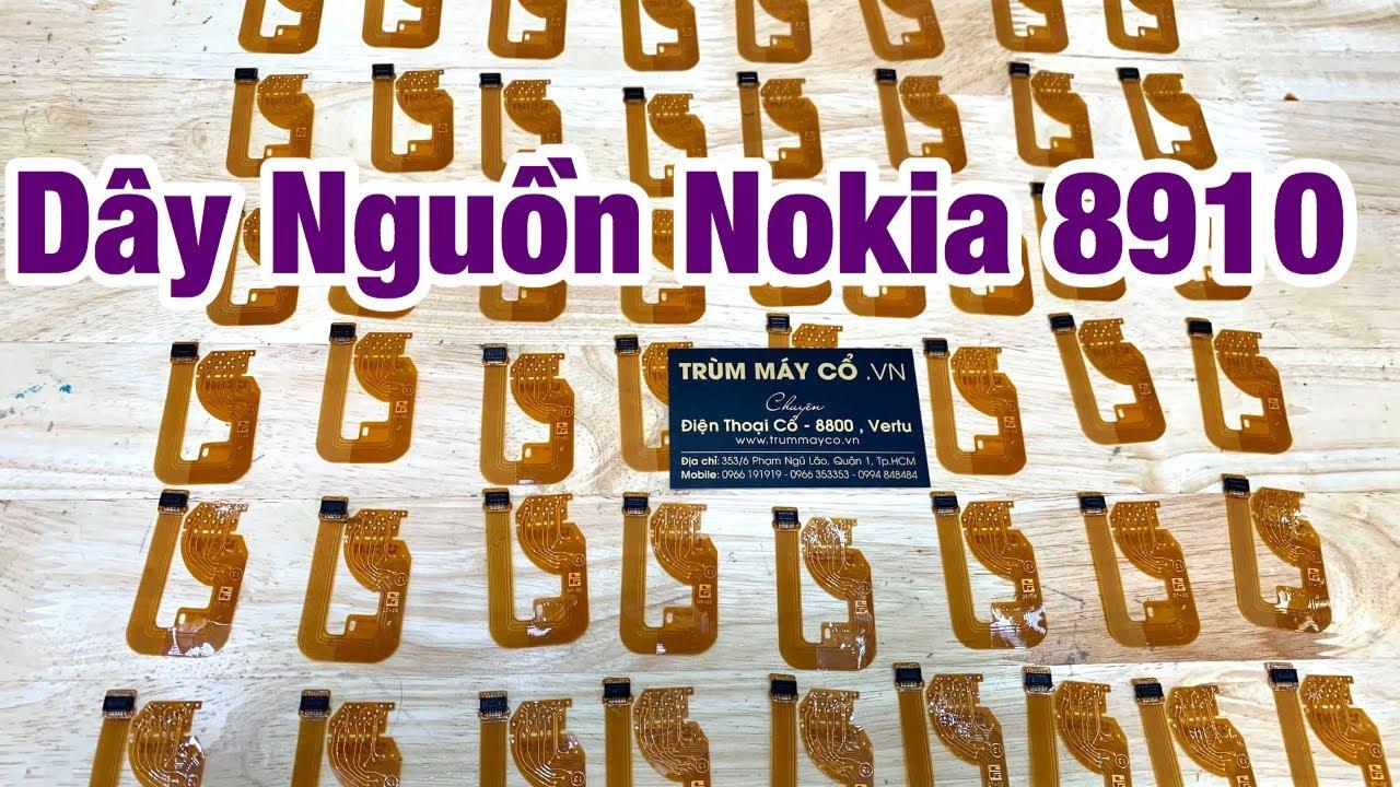 Thay Dây Nguồn Nokia 8910 , 8910i tại tphcm