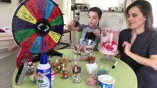Ice Cream Topping Challenge!