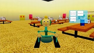 NEW 1ST PRIZE Roblox GAMEPLAY (Baldi's Basics)