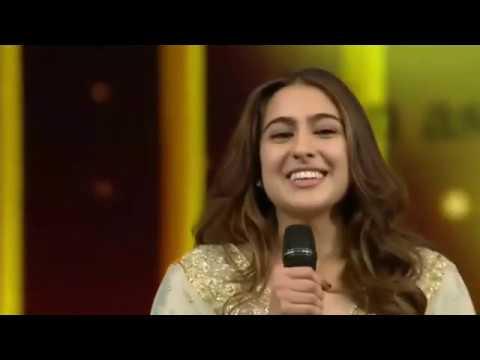 Sara Ali Khan Winning Her 1st Award 2019 Mp3