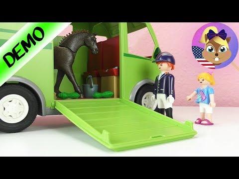 Playmobil Horse Trailer NEW! Horse Story