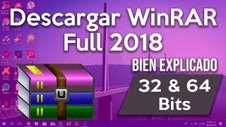 Como Descargar E Instalar Winrar Full 2019 32 y 64 Bits ʜᴅ Crack Incluido