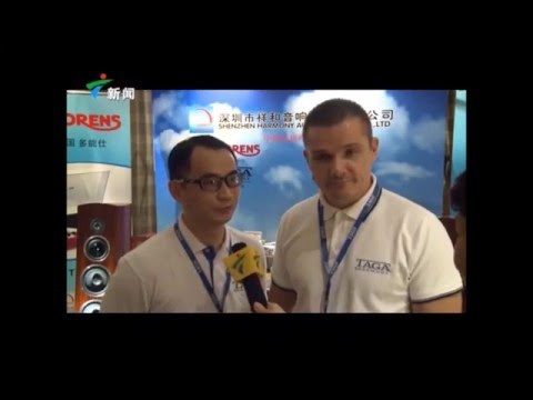 TAGA Harmony on GUANGDONG NEWS China 11-2015