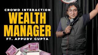 StartUp, Paisa aur Andhaa Pyaar   Appurv Gupta aka GuptaJi   Stand Up Comedy Crowd Interaction