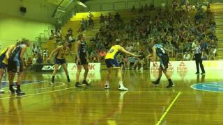 Third time's the charm as Maddie Allen beats buzzer vs Townsville (14/1/17)