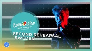 Benjamin Ingrosso - Dance You Off - Exclusive Rehearsal Clip - Sweden - Eurovision 2018
