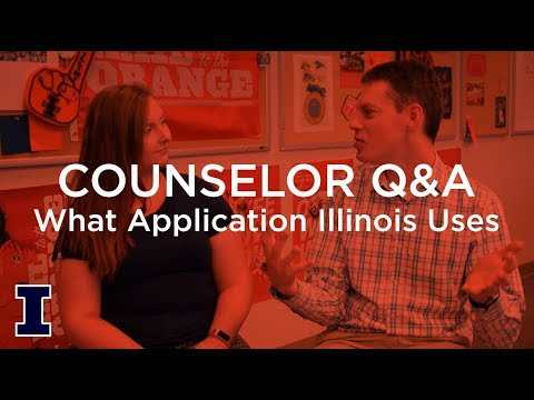 Ask Admissions: What application does Illinois use?