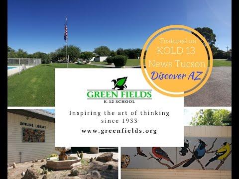 "Green Fields School on "" Discover Arizona"""