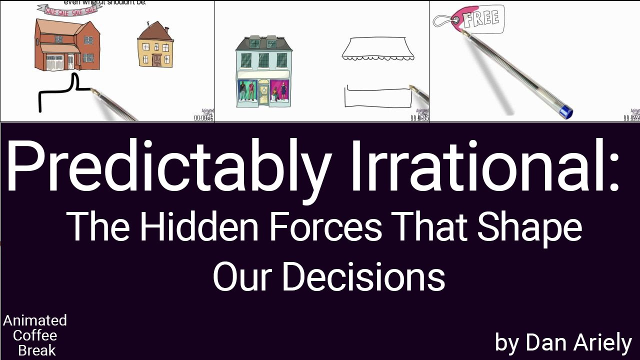 predictably irrational summary This predictably irrational summary shows you how your brain jumps to comparisons, why free is the most powerful price & what the endowment effect is.