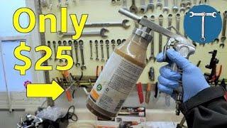 Ultra cheap Fluid Film spray kit - how to spray Fluid Film