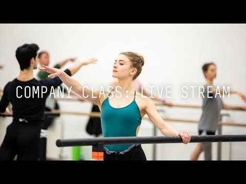 Scottish Ballet Live Stream: Company Class 2019