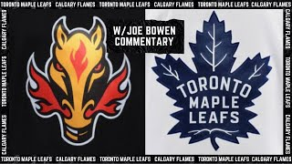 Maple Leafs vs. Flames - Apr. 5, 2021 (w/Joe Bowen Commentary)