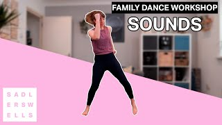 Family Dance Workshop for kids aged 2 – 6: Sounds