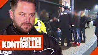 Kein Respekt vor Polizei: Aggressiver Mann geht Polizei an 1/2 | Achtung Kontrolle | Kabel Eins
