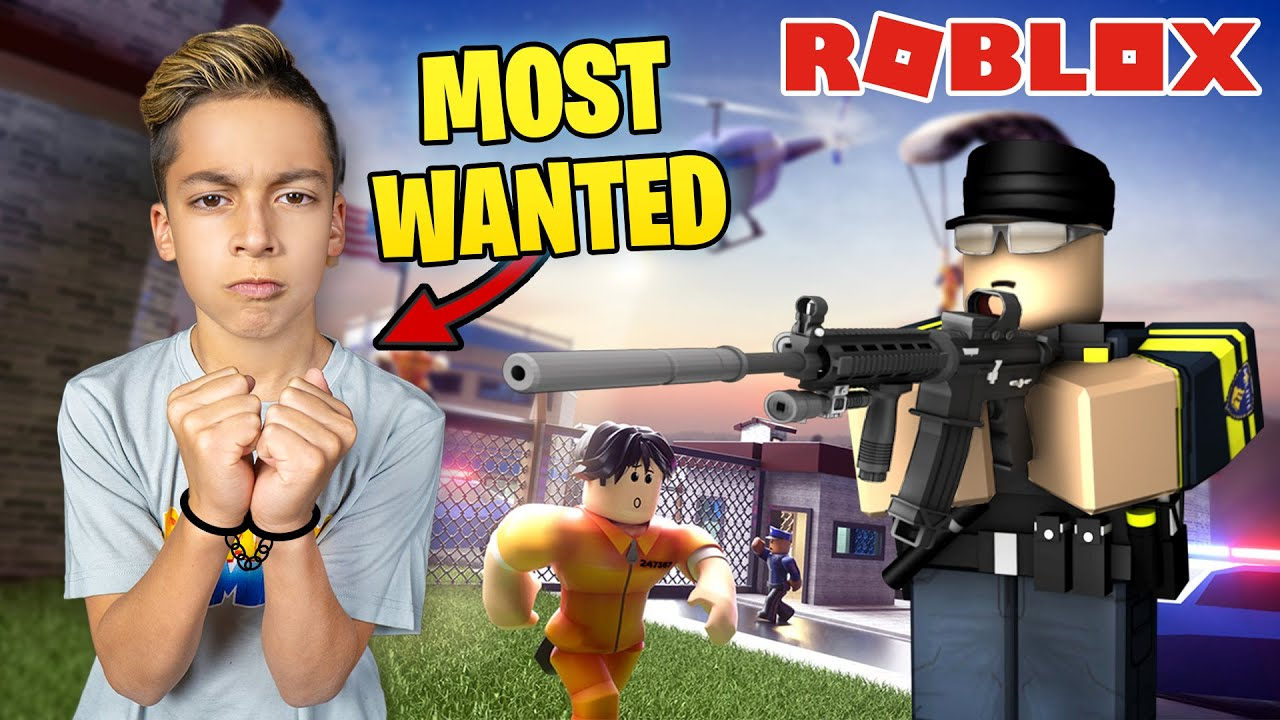"FERRAN is the ""MOST WANTED"" CRIMINAL on ROBLOX!! 
