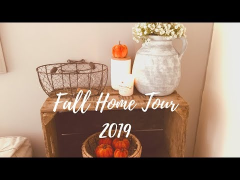 FALL HOME TOUR 2019 | FARMHOUSE STYLE DECOR