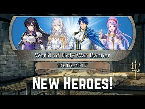 New Heroes - First Impressions & Stats of World of Holy War Banner | FEH News 【Fire Emblem Heroes】