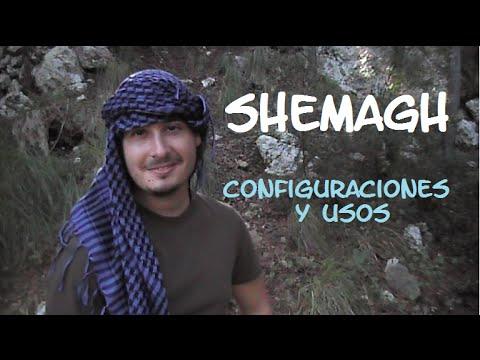 Shemagh – Usos y configuraciones. Supervivencia – Bushcraft
