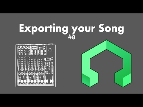 LMMS Tutorial 8: Exporting your song