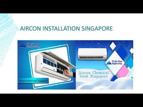 Professional Aircon Installation Service Provider in Singapore