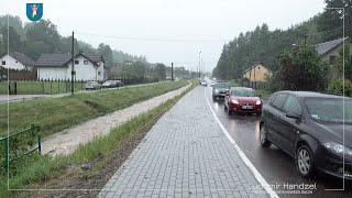 Powstaje nowy chodnik przy ulicy Barskiej