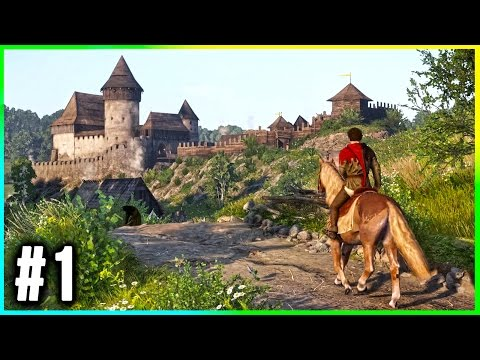 Kingdom Come: Deliverance Walkthrough Part 1 GAMEPLAY