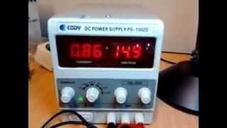 Arduino + Epson LQ-2180 + EMS 2 A Dual H-BRIDGE