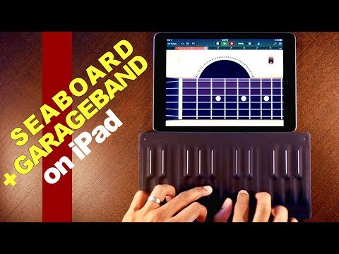 SEABOARD BLOCK expressive SOUNDS on GarageBand on iOS!