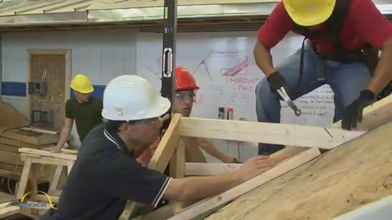 Le m tier de charpenterie menuiserie youtube - Chambre des metiers de l ain ...