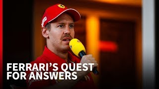 'Vettel ducked the question about Ferrari's F1 cooling problems'
