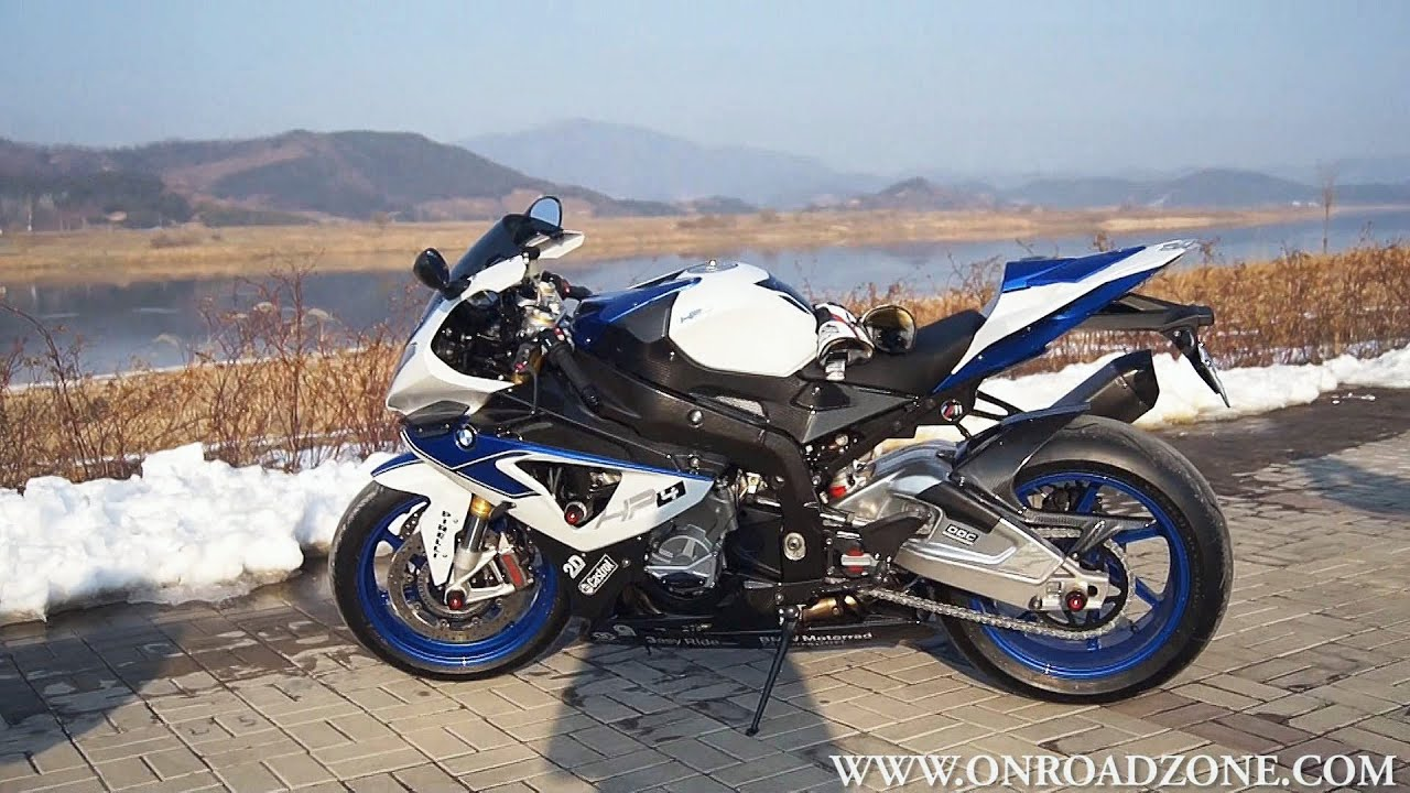 Bmw S1000rr Hp4 Bmw Bike Wallpapers: BMW HP4 Walking Around View & Ignition On (S1000RR HP4
