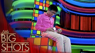 Jianyu Attempts To Solve 3 Rubik's Cubes Simultaneously | Little Big Shots