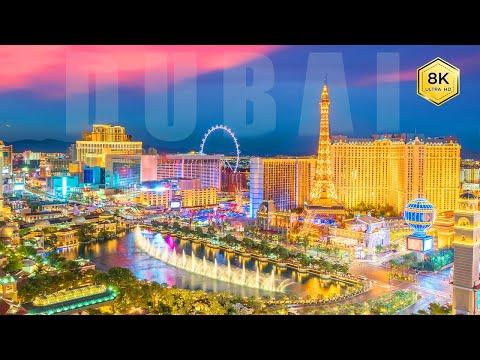 best night city view in the world. dubai travel video 2021.world city tour 2021. 8k video ultrahd.