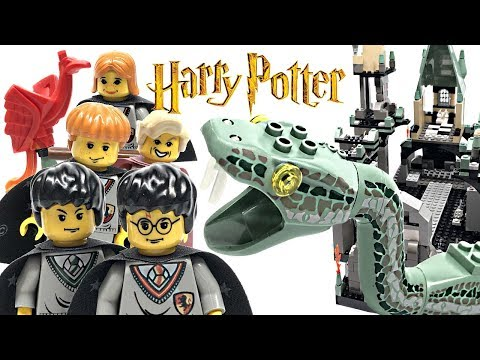 LEGO Harry Potter and The Chamber of Secrets review! 2002 set 4730!