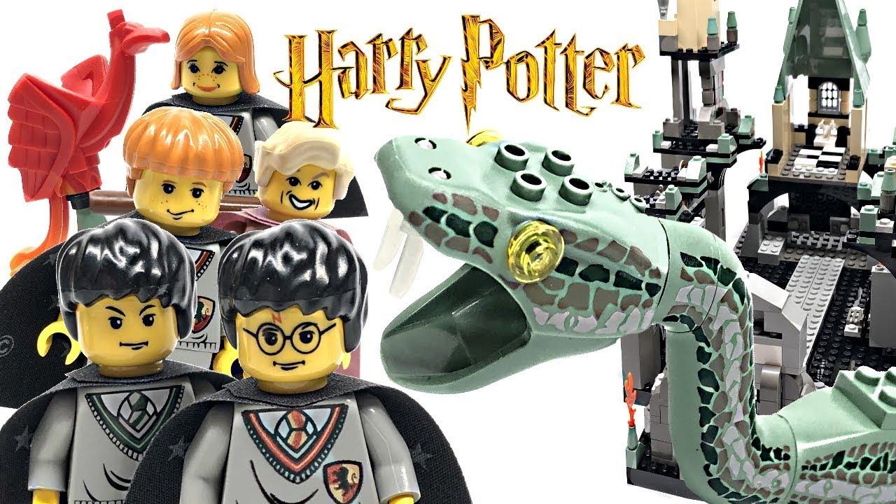 Lego HARRY POTTER BASILISK SNAKE MINIFIGURE Set 4730 The Chamber of Secrets
