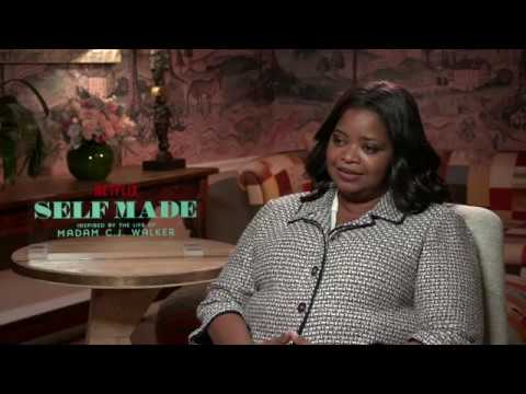 Octavia Spencer talks Self Made: Inspired by the Life of Madam C.J. Walker
