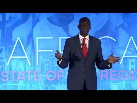 """Prof. Sidy Ndao on """"The State of the Africa Region: Skills for Success in a Transforming Africa"""""""