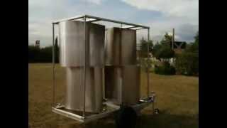 homemake DIY wind turbine vertical savonius darrieus windgenerator 10kw eolienne vawt