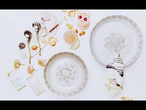 Festive Table Settings with Poetry and Jacqui McArthur