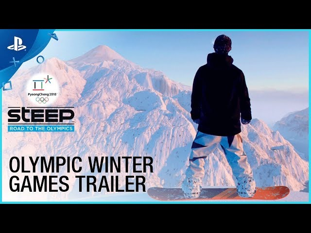 Steep: Road to the Olympics - Winter Games Gameplay | PS4