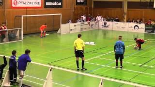 U12 Adidas-cup 2014 Maximiliansau Halbfinale Eintracht Frankfurt - Greuther Fürth 9 meter schießen