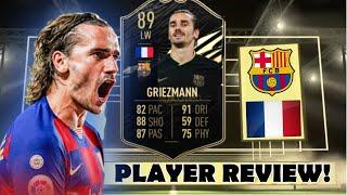 HE'S INSANE! 🔥 89 SECOND INFORM GRIEZMANN PLAYER REVIEW! (SIF GRIEZMANN) - FIFA 21