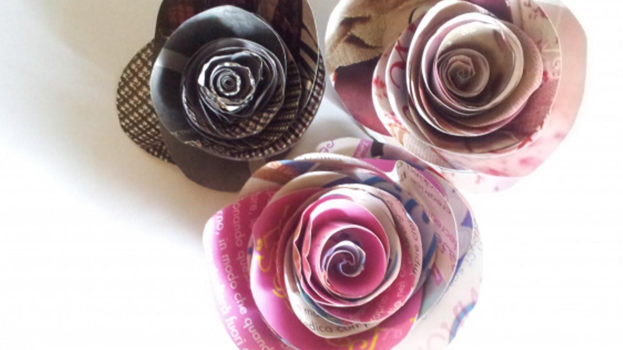 Rose Fai Da Te crea una semplicissima rosa con una rivista - fai da te creazioni -  guidecentral