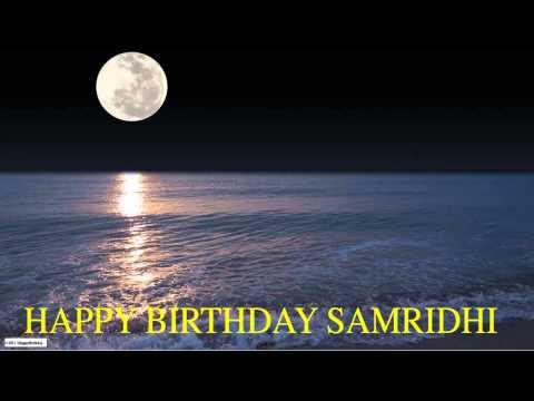Samridhi  Moon La Luna - Happy Birthday