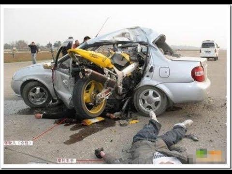 Car Crash) very Shock dash camera 2017 NEW By Top Speed Motor HD (1319) HD
