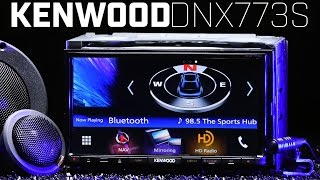 Kenwood DNX773S - Apple Carplay & Android Auto - Mirror Link - Navigation